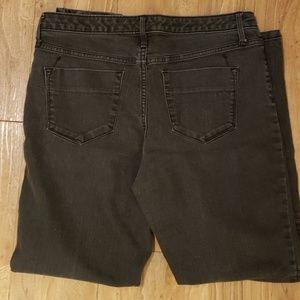 Mossimo Jeans - Massimo Vintage Mid-Rise Denim Legging